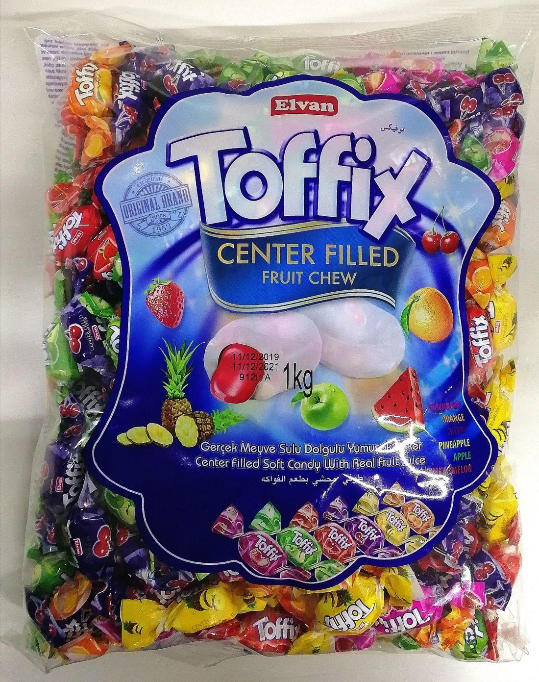 Toffix Gyümölcsös cukorka 1 kg