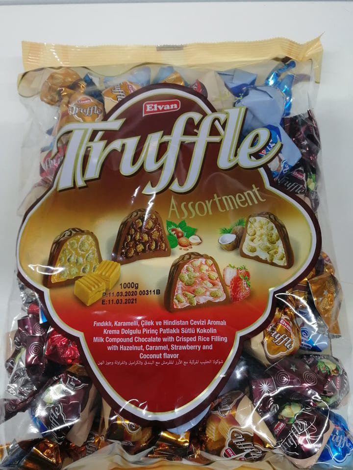Truffle assortment 1 kg bonbon desszert