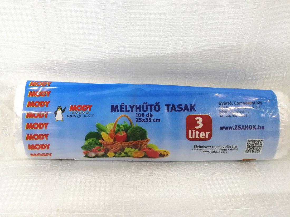 Mélyhűtő tasak 3 Liter