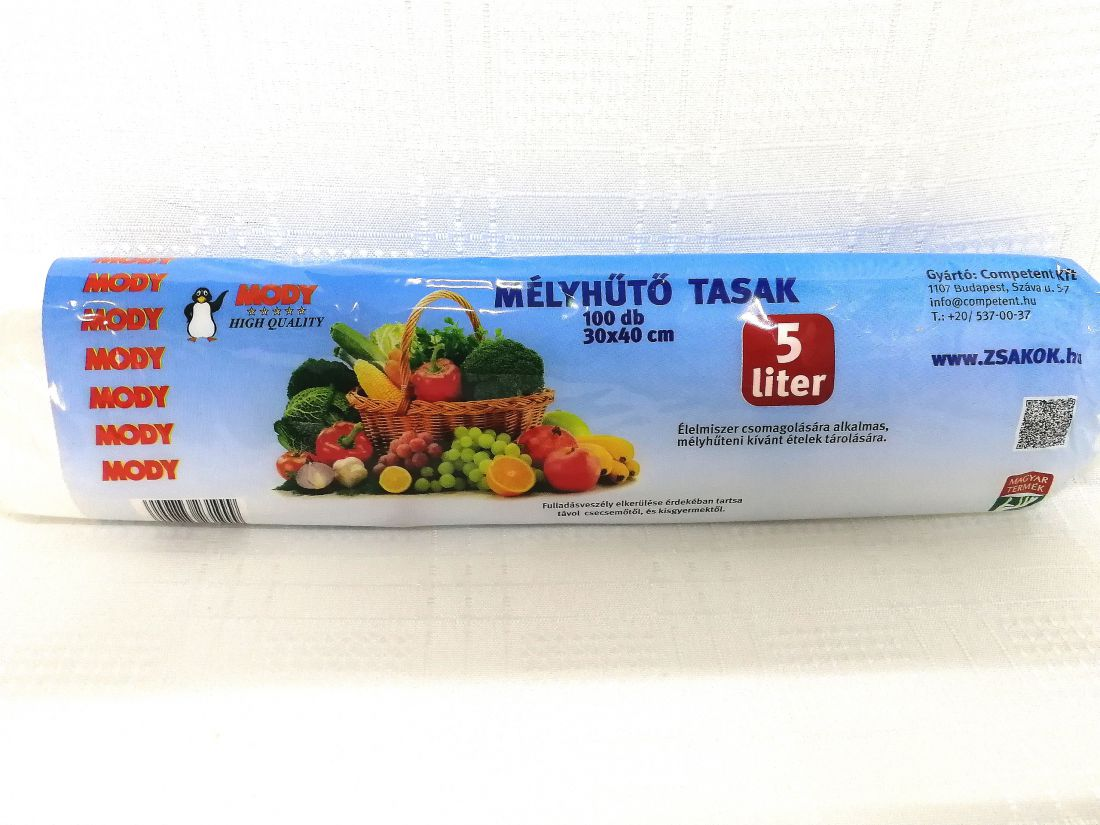 Mélyhűtő tasak 5 Liter