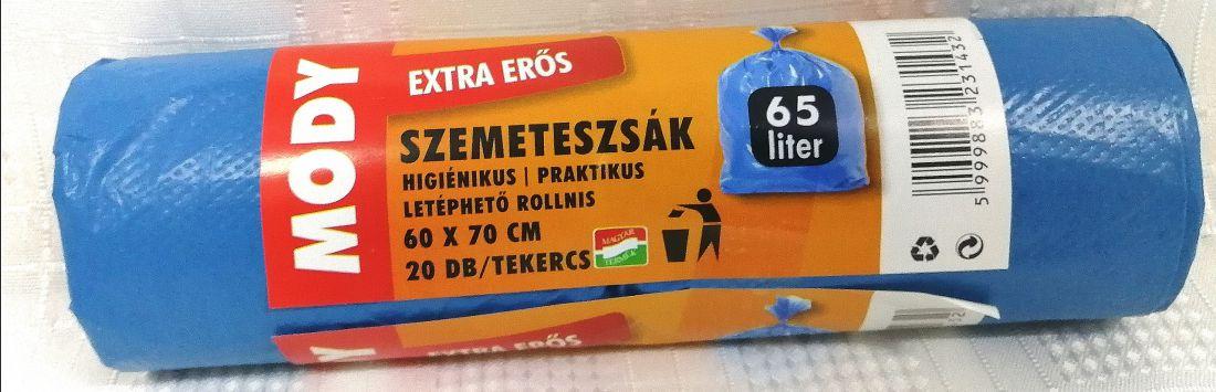 Szemeteszsák 65 liter