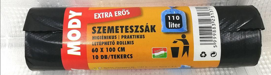 Szemeteszsák 110liter