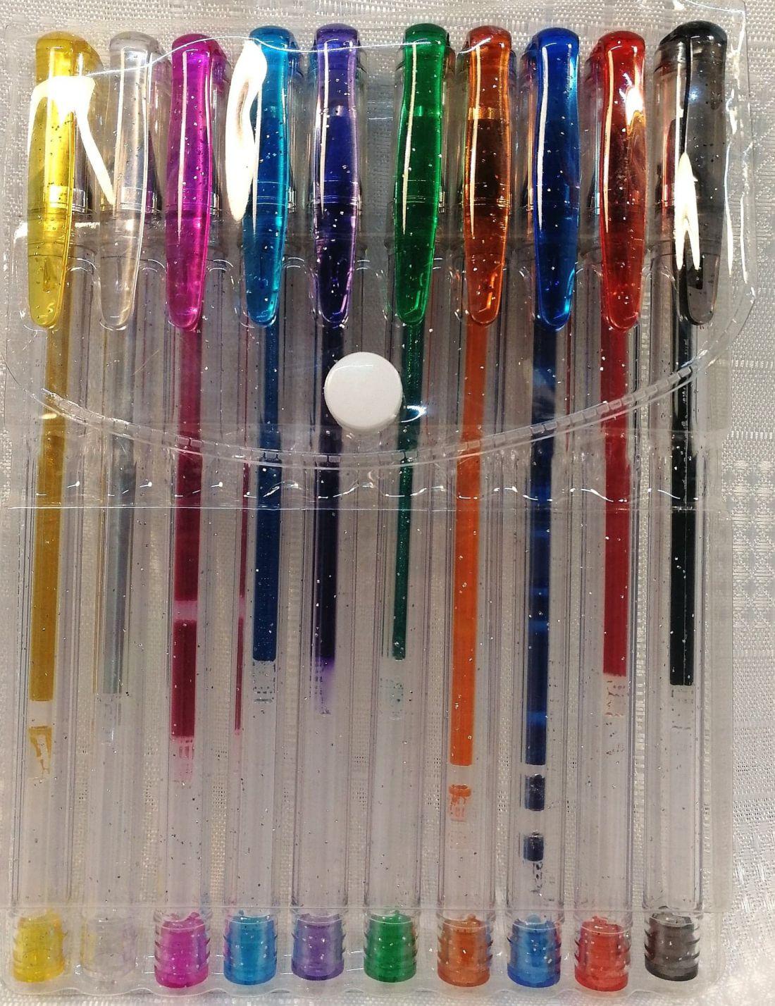 Zselés toll színes