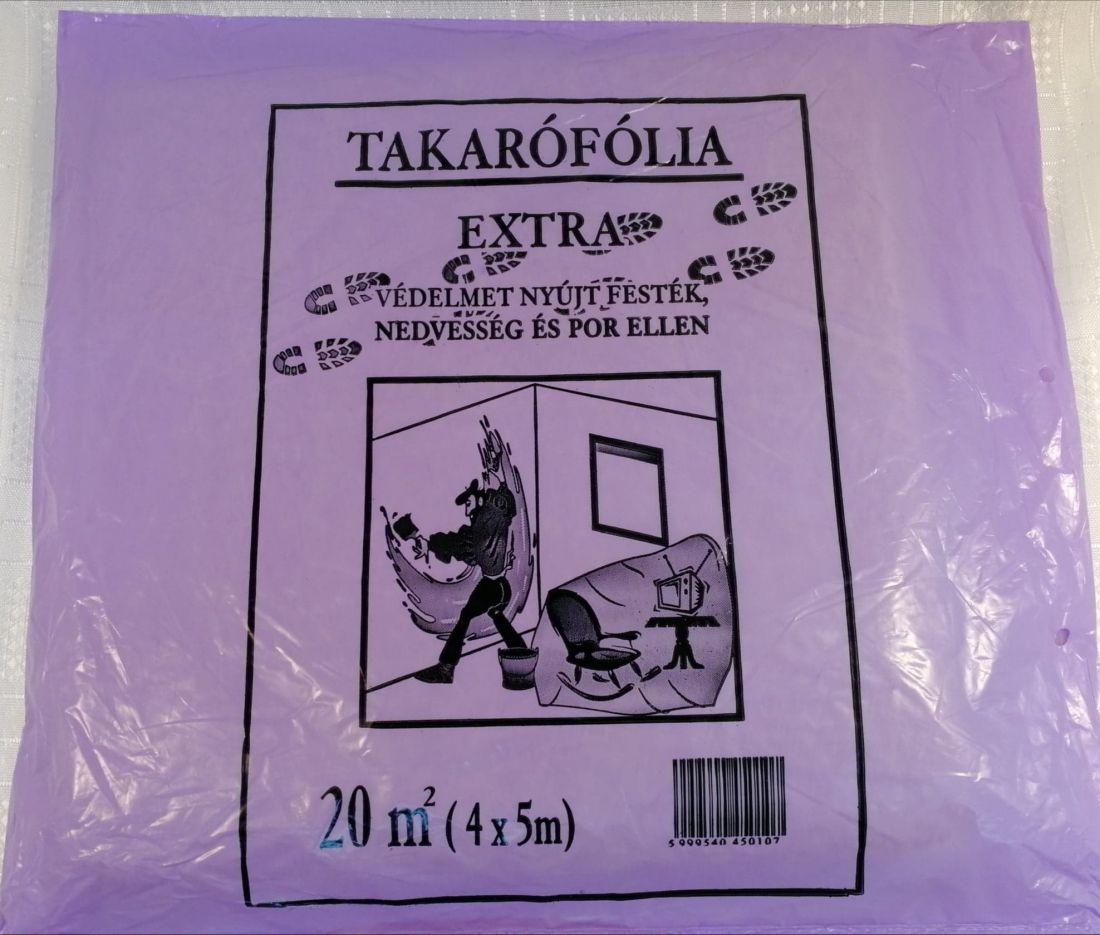 Takarófólia (lila) Vastag