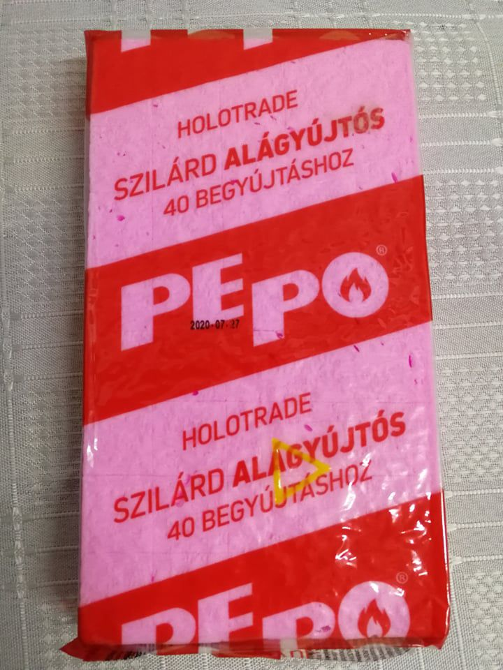 Pepo Begyújtós kocka  40db