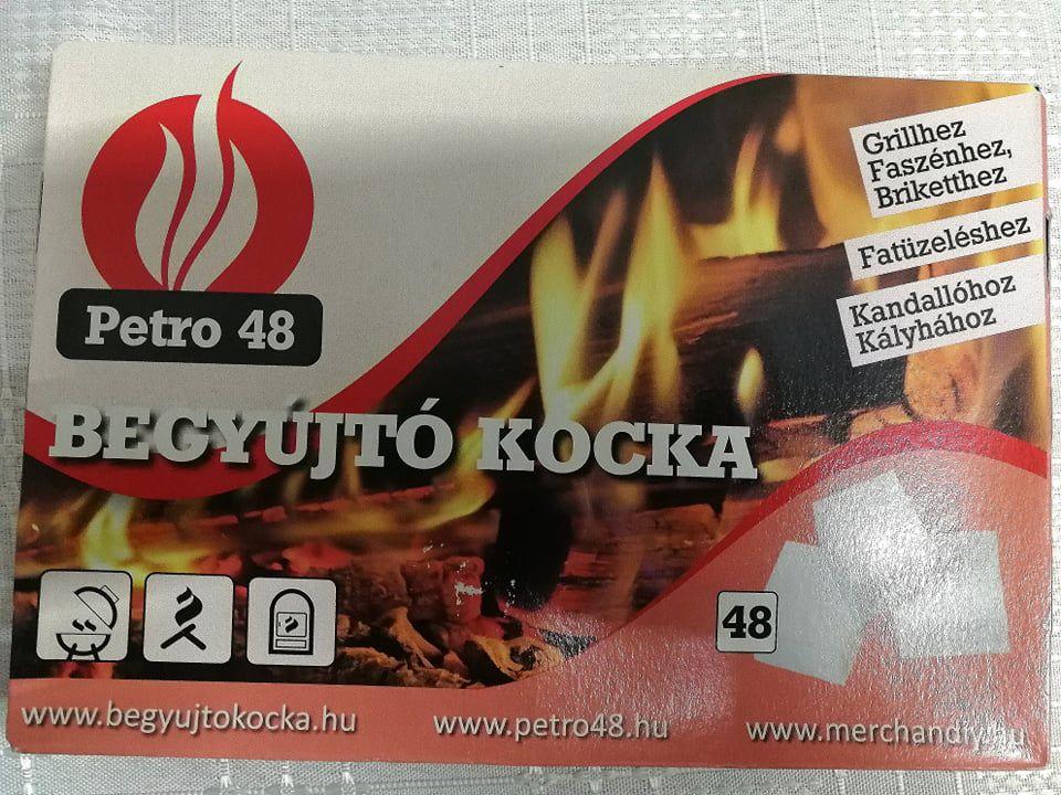 Petro Begyújtós kocka 48 db