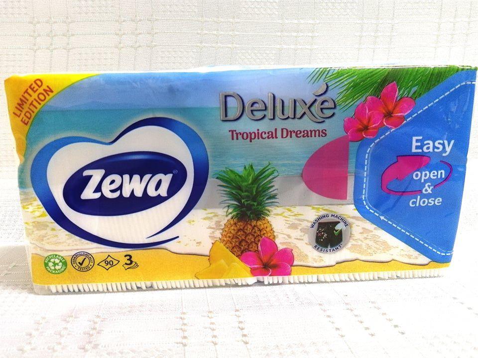 Zewa Deluxe Tropicial Dreams papírzsebkendő