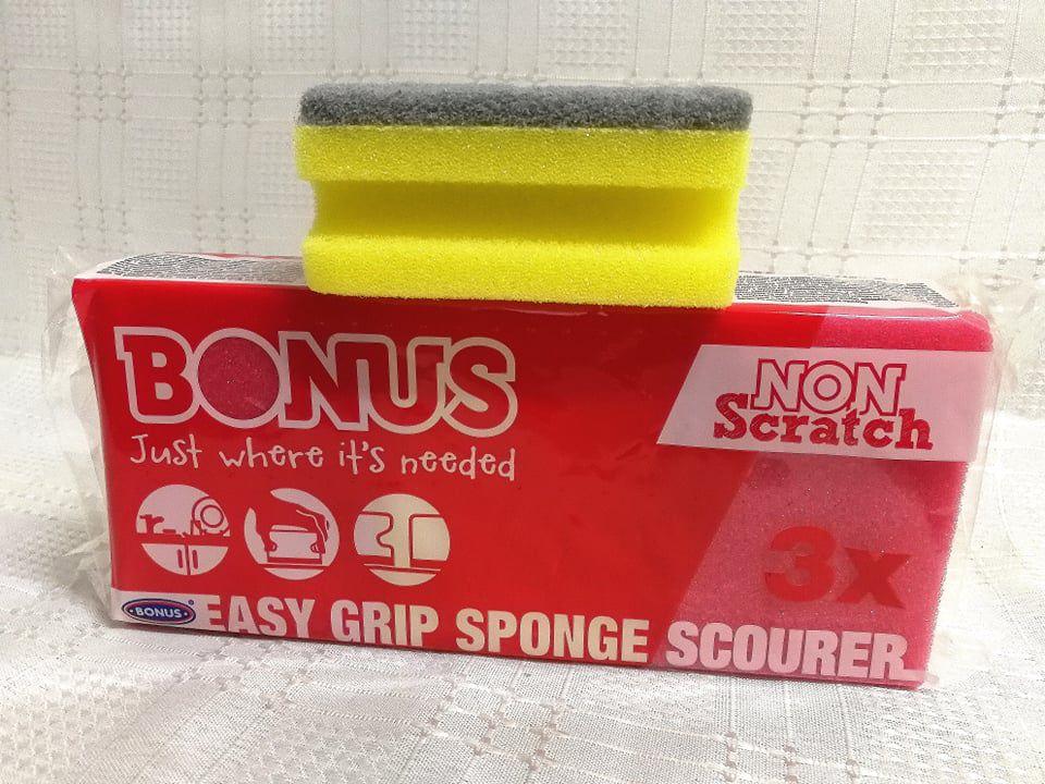 Bonus mosogatószivacs 3db