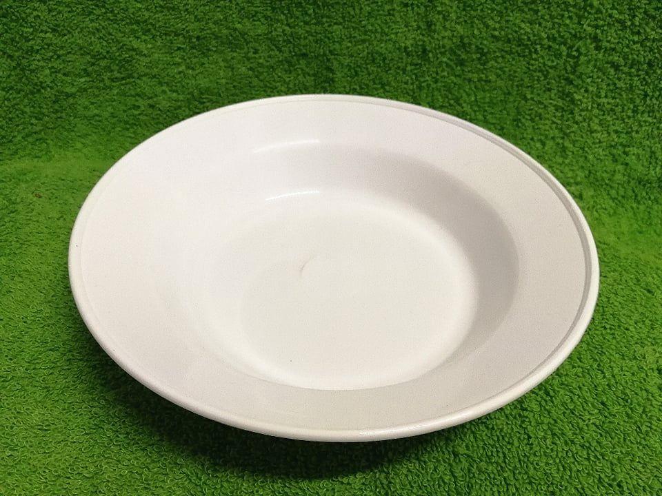 Műanyag mély tányér
