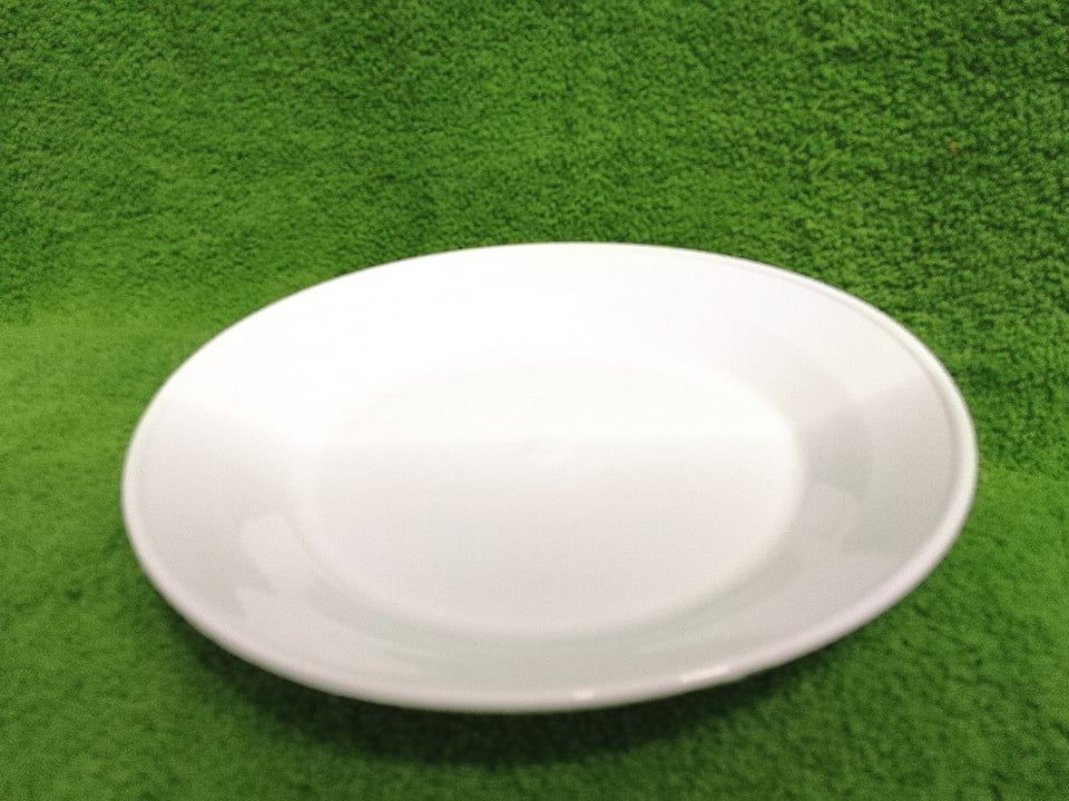 Műanyag lapos tányér