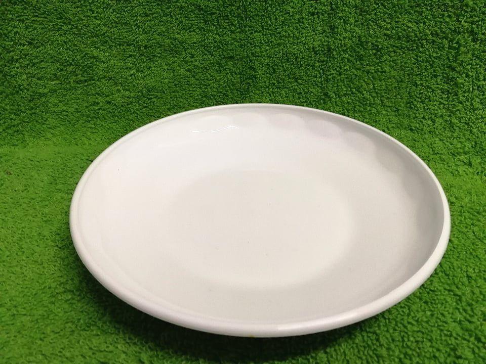 Műanyag desszertes tányér