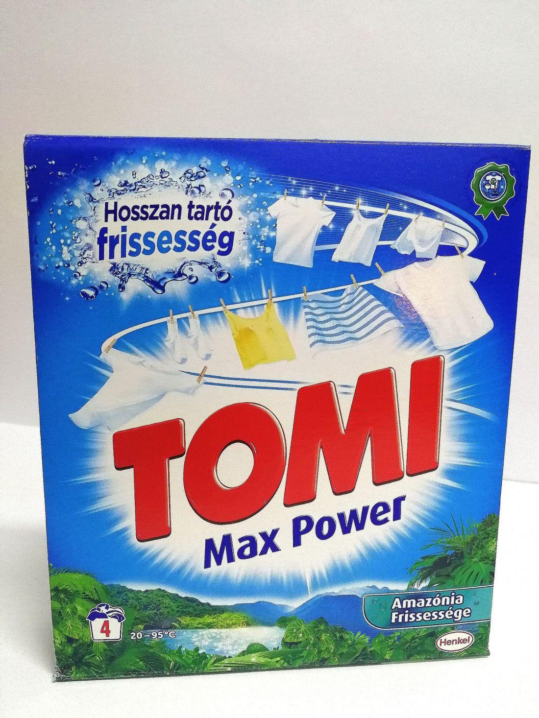 Tomi Max Power Amazónia Frissessége 260g