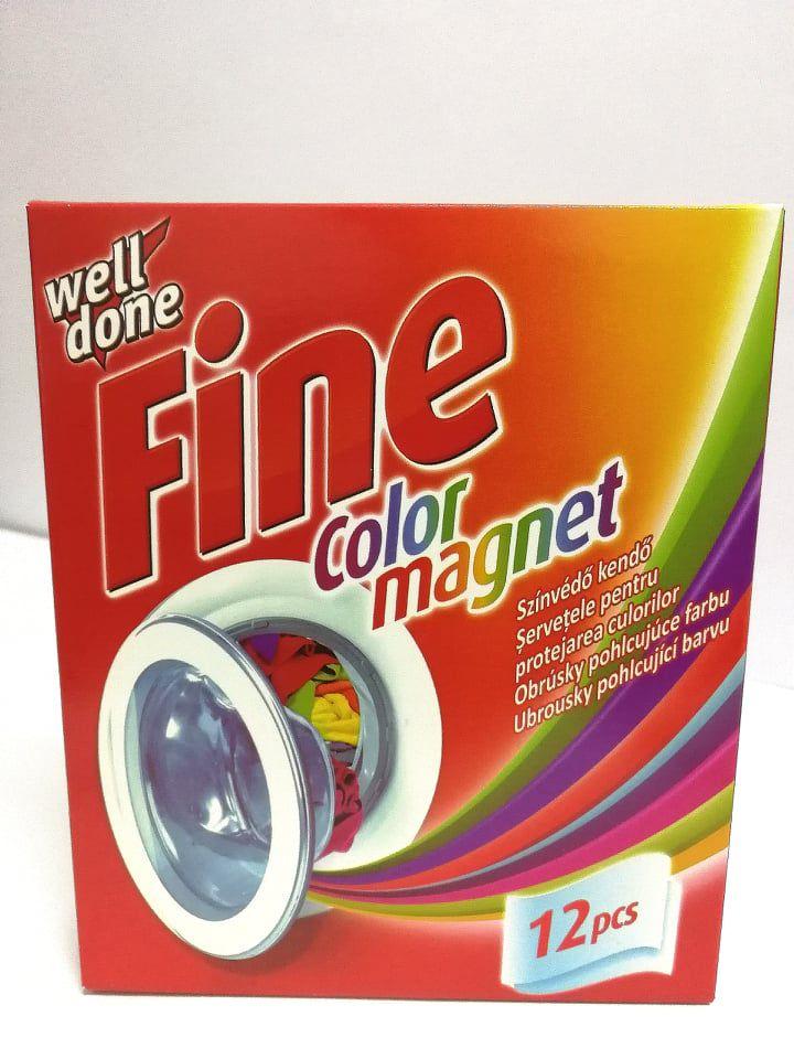 Well Done Fine színvédő kendő 12db