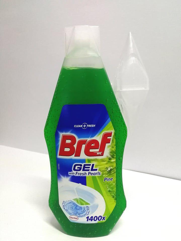 Bref wc tisztító utántöltő+kosár 360ml