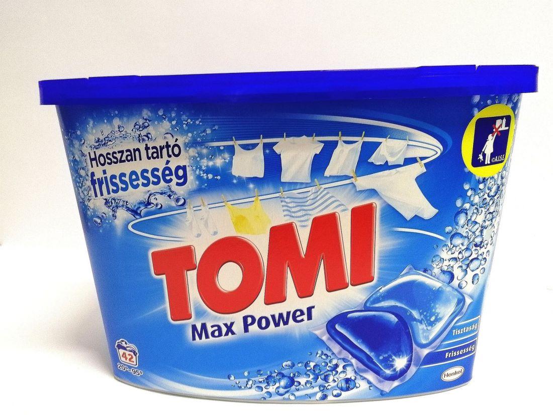 Tomi Max Power mosókapszula 42db