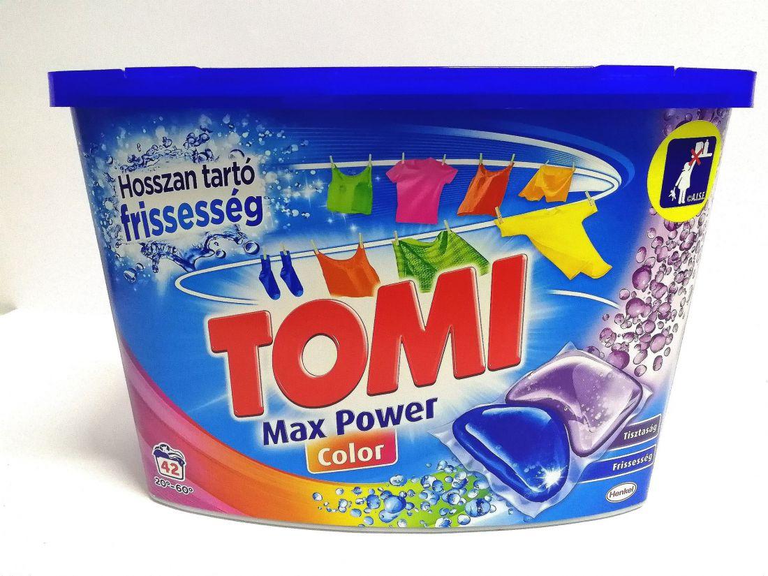 Tomi Max Power Color mosókapszula 42db