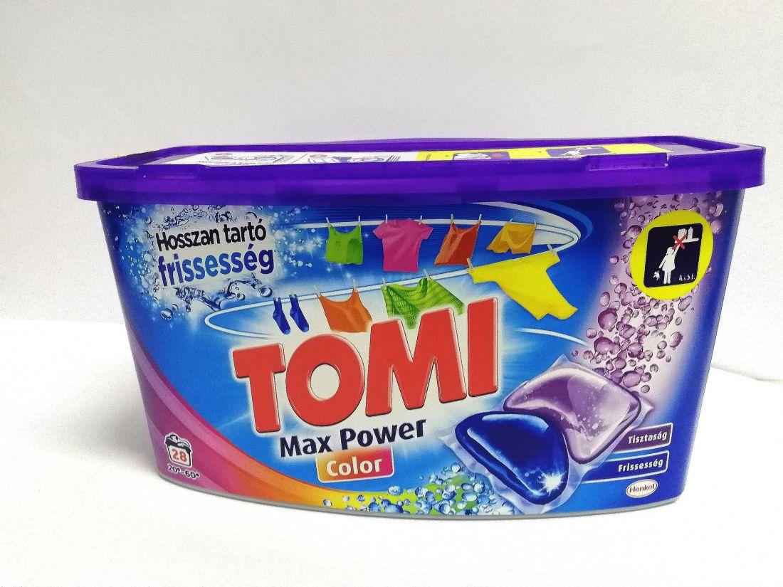 Tomi Max Power Color mosókapszula 28db