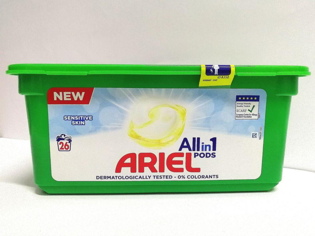 Ariel Sensitive Skin kapszula 26db