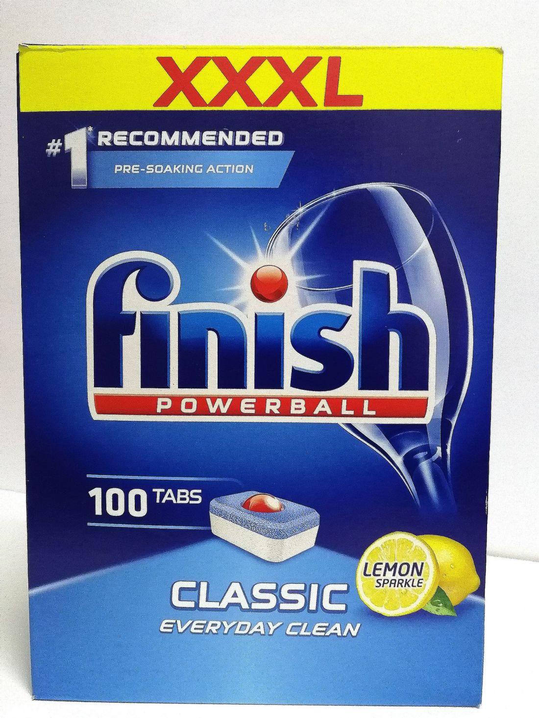 Finish Powerball Classic tabletta 100 db