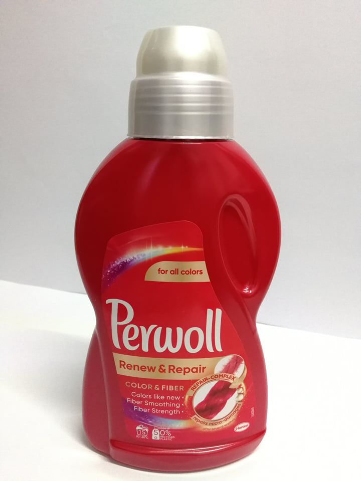 Perwoll Renew&Repair-Color&Fiber folyékony mosószer 900 ml