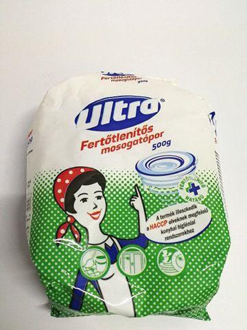 Ultra mosogatópor fertőtlenítős 500g